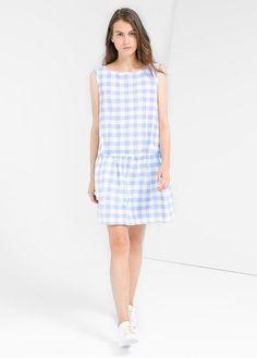 Gingham check dress - Dresses for Women | OUTLET