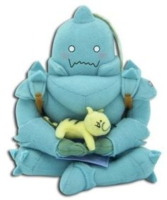 Amazon.com: Fullmetal Alchemist: Alphonse Sitting Plush: Toys & Games