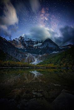 """snow cap (China) by Haitong Yu """" """""""