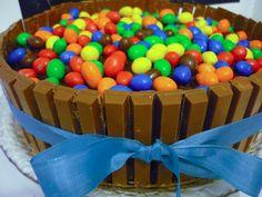 La Bonne Graille: Gâteau au chocolat aux Kit-Kat et M's