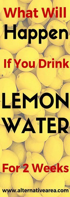 What Will Happen If You Drink Lemon Water For 2 Weeks. Healthy Living | Healthy eating | Healthy tips