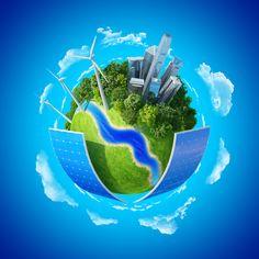Enerji ihtiyacının tamamı yenilenebilir enerjiyle karşılanabilir !
