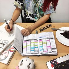 """I love using the handy free downloads from the Passion Planner website. They're made in house, & I especially love the finance tracker to keep my expenses in line. I use that every week along with the ""note pages"", which I use frequently now since school started. I take notes & doodle on it."