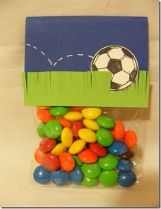 soccer treat bags JOM goal week- prize for game winners