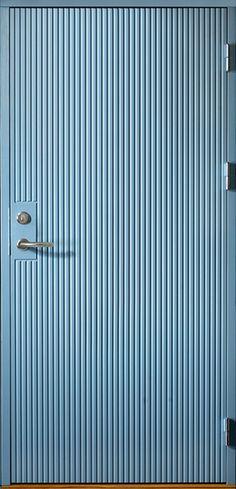 Ytterdörr Arild 115S. Tillval: kulör Allmogeblå 4402.