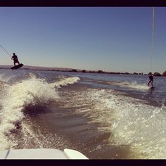 Friends who wakeboard together stay together (: