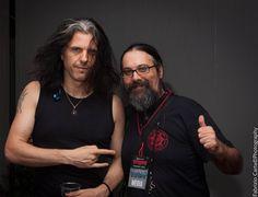 """58 kedvelés, 5 hozzászólás – Luigi Bossalino (Lui$) (@luigibossalino) Instagram-hozzászólása: """"Alex Skolnick & Luis #alexskolnick #testament #backstage #livemusic #concert #thrashmetal #metal…"""""""