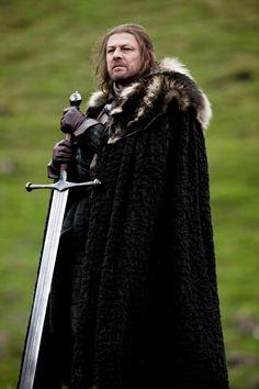 Game of Thrones Eddard Stark HBO Television Poster - Valar Morghulis, Valar Dohaeris, Game Of Thrones, Jon Snow, Eddard Stark, Ned Stark, Mejores Series Tv, My Champion, My Sun And Stars