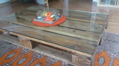*wooden pallet table* Wooden Pallet Table, Wooden Pallets, Homemade Things, Tables, Furniture, Home Decor, Homemade Home Decor, Mesas, Home Furnishings