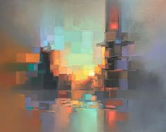 Jenny Yu is a Chinese-American artist and illustrator, based in Los Angeles, California. Currently, she is working as an environment concept artist at Mindshow… Abstract Landscape Painting, Landscape Art, Landscape Paintings, Abstract Art, Art Paintings, Abstract Paintings, Modern Paintings, Abstract Portrait, Portrait Paintings