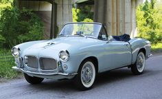 1957 Fiat 1200 TV Roadster Maintenance/restoration of old/vintage vehicles: the material for new cogs/casters/gears/pads could be cast polyamide which I (Cast polyamide) can produce. My contact: tatjana.alic@windowslive.com