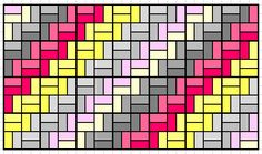 Free Chevron Quilt Pattern from *knowgirls