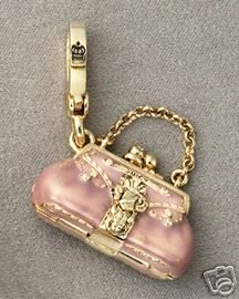 juicy couture charms | 2007 Status Bag Charm is one of my favorite rare Juicy Couture charms ...