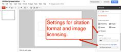 Back in May Google added an integrated research tool to Google Docs. The research tool allows you to quickly find images, quotes, and links without leaving your document.  Today, Google added the research tool to Google Docs presentations and drawings.