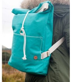 Duck Canvas Rolltop Backpack, Atlantic Equipment Project - The Cat and the Moon November 2015, Fashion Line, Winter Collection, Moon, Backpacks, Cat, Canvas, Projects, The Moon