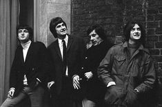 The Kinks - Soho 1966 - by Val Wilmer.