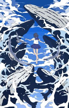 by toko 😌❤️ Anime Scenery Wallpaper, Of Wallpaper, Pretty Art, Cute Art, Aesthetic Art, Aesthetic Anime, Japon Illustration, Cool Drawings, Art Inspo