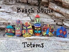 Beach Stone Totems