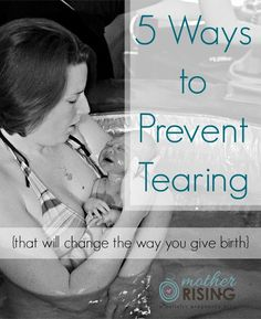 Want to know how to prevent tearing during birth? Here are 5 surprising ways to…