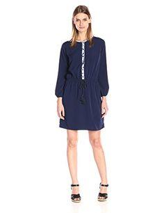 Shoshanna Women's Henrietta Shirt Dress, Navy, 4- #fashion #Apparel find more at lowpricebooks.co - #fashion