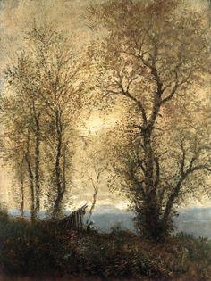 Laszlo Mednyanszky - Landscape in Autumn - 1890 Landscape Artwork, Abstract Landscape, Picasso, Art Through The Ages, Traditional Landscape, European Paintings, Art Database, Beautiful Artwork, Art World