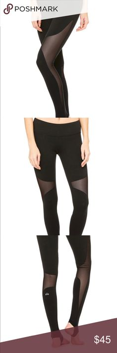 4aa2d2846c3460 Alo Yoga black coast leggings size small All Yoga black coast leggings size  small in perfect