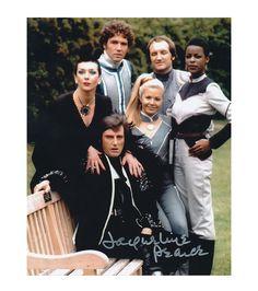 Blake's 7 later cast (Servalvan, Avon, Tarrant, Soolin, Villa, Dayna)