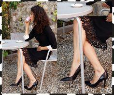 Tailleur CristinaEffe con dettagli in pizzo traforato www.101shopping.it