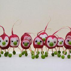 Une armée de radis!