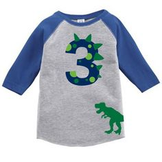 This is a perfect Shirt for your toddlers Birthday or just for everyday wear! Let us know what number you would like on front, and what name on back at check ou