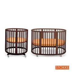 The Ultimate Nursery, including Stokke Sleepi System Convertible Round Crib