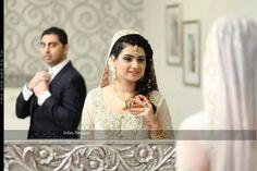 Pakistani bride on walima