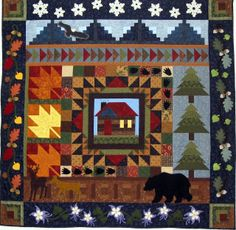Starwood Quilter: Welcome to My Cabin Quilt and Walking Wednesdays