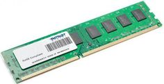 Оперативная память 4Gb PC3-10600 1333MHz DDR3 DIMM Patriot  — 2000 руб. —  Бренд: Patriot, Тип модуля памяти: DDR3, Объём: 4 Гб, Рабочая частота: 1333, Латентность: CL9, Количество модулей памяти в комплекте: 1