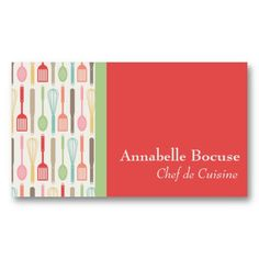 Cooking Party Business Card #junkydotcom http://www.zazzle.com/cooking_party_business_card-240320879517899142?rf=238087280021604351