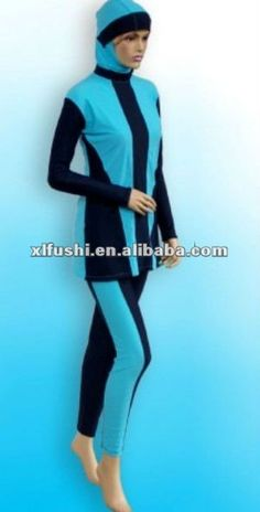 TianMaiGeLun New Modest Muslim Swimwear Islamic Swimsuit Hijab Long Sleeve Swimming Beachwear Bikini