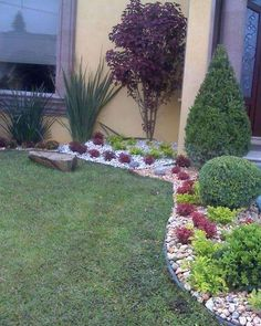 How to decorate small gardens: - Moda Costa Rica, Backyard, Patio, Small Gardens, Stepping Stones, Image Search, Diy Projects, Landscape, Interior Design