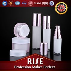 Empty Round Plastic Bottles With Airless Pump Acrylic Cosmetic Empty Bottle , Find Complete Details about Empty Round Plastic Bottles With Airless Pump Acrylic Cosmetic Empty Bottle,Black Frosted Glass Bottle,Green Glass Bottles Frosted,Cosmetic Glass Lotion Bottles from -Shaoxing Rise Cosmetic Packaging Co., Ltd. Supplier or Manufacturer on Alibaba.com