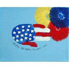 - Kid Friendly Things To Do .com handprint flag-I'm going to try to make these with the boys for our shirts for July 4 this year. :)handprint flag-I'm going to try to make these with the boys for our shirts for July 4 this year. Daycare Crafts, Toddler Crafts, Preschool Crafts, Crafts For Kids, Arts And Crafts, Toddler Games, Daycare Ideas, Patriotic Crafts, July Crafts