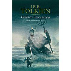 """Contos Inacabados - J.R.R. Tolkien: Este livro contém a única história que sobreviveu das longas eras de Númenor antes de sua queda, e tudo o que se conhece sobre temas como os Cinco Magos, os Palantíri ou a lenda de Amroth. Escrevendo acerca dos Apêndices de O Senhor dos Anéis, J.R.R.Tolkien disse em 1955: """"Aqueles que apreciam o livro apenas como """"romance heroico"""" e consideram os """"panoramas inexplicados"""" parte do efeito literário, desprezarão os Apêndices, e farão muito bem."""""""