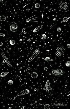 Black Wallpaper Space 'Space' iPhone Case by FoxShiver Oi Space Phone Wallpaper, Planets Wallpaper, Homescreen Wallpaper, Iphone Background Wallpaper, Dark Wallpaper, Tumblr Wallpaper, Galaxy Wallpaper, Graffiti Wallpaper Iphone, Unique Wallpaper