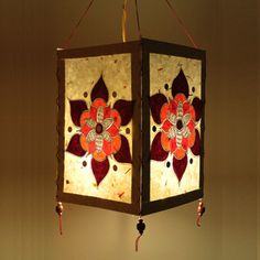 Madhubani painting lamp. Pre-register on www.tjori.com to get amazing hand-crafted products from India.