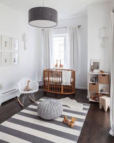 25 Modern Nursery Ideas to Create a Stylish Retreat - http://freshome.com/modern-nursery-ideas/