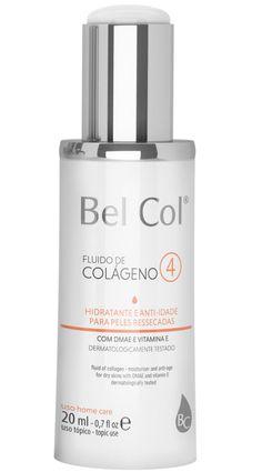 Hidratante Anti Idade Bel Col Fluido de Colágeno 4 Peles Secas