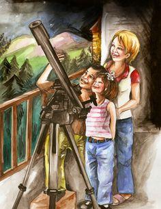 best children book illustration styles portfolio.