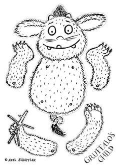 The Gruffalo - Activities The Gruffalo, Gruffalo Party, Gruffalo Eyfs, Gruffalo Trail, Gruffalo Activities, Craft Activities, Gruffalo's Child, Paper Puppets, Book Week