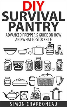 DIY Survival Pantry: Advanced Prepper's Guide on How to Stockpile a 6 Month Supply of Food and Water! With Modern Tips and Hacks! (Canning and Preserving, Prepper Survival, Preppers Pantry). This book is free as I type this today, but well worth the low price otherwise. Really good author, readable and well organized. Recommended!