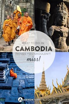 Planning a trip to Cambodia but don't know what to do? Here is our list of the best things to do while in the country!