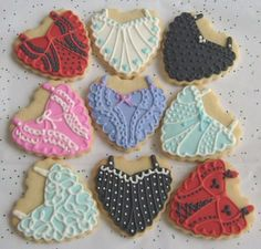 Corset cookies. I would DIY instead of buying them.
