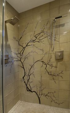 Cherry Blossom Tree Wall Decal Design Ideas, Pictures, Remodel, and Decor - page 8